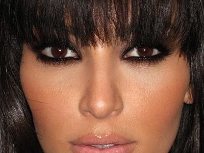 Black smokey eye kim kardashian
