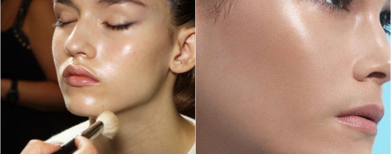 glossy skin makeup