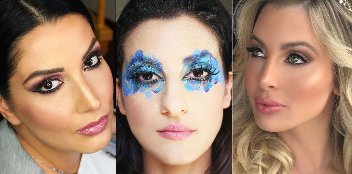 Makeup Artist Collage